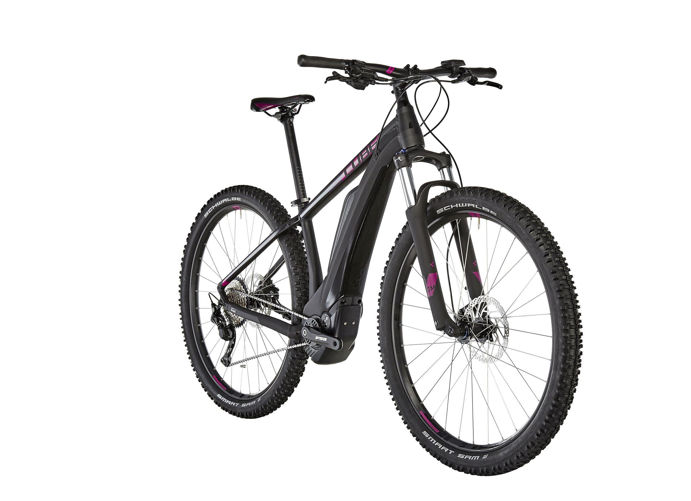 cube access hybrid pro 400 bicicletta elettrica hardtail donna nero su bikester it